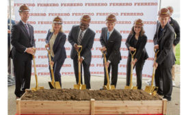 Ferrero Chocolate Processing Plant Illinois Groundbreaking