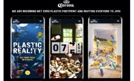 Corona is first global beverage brand to reach net zero plastic footprint