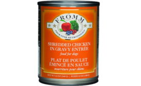 Fromm Family Foods recalls canned dog food entrée