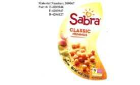 Sabra Dipping Company issues recall for Classic Hummus