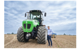 AUGA Group introduces first-ever environmentally friendly tractor