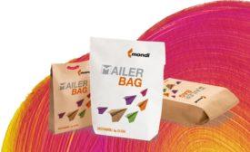 New plastic-free mailer bag for e-commerce packaging