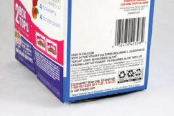 new standardized label