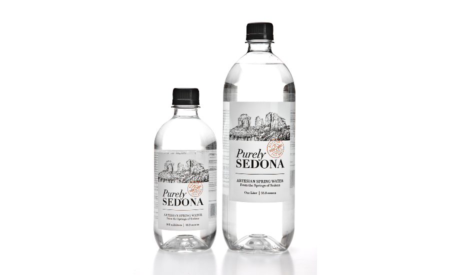 Purely Sedona PET bottles