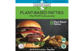 BTB Mainstream meatless patties
