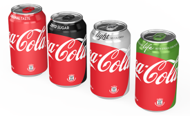 Coke debuts new look to unify brand