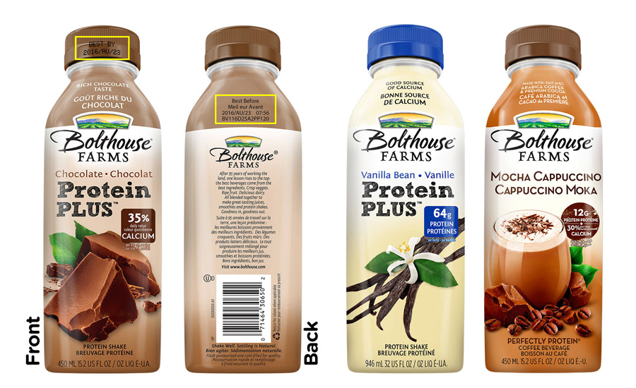 Bolthouse Farms recalls millions of protein drinks