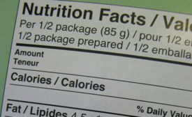 New database to contain nutritional details of more than 80,000 name brand products