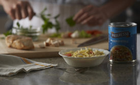 Progresso sourcing only antibiotic, hormone-free chicken breasts for soups
