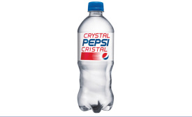 How retro: Crystal Pepsi returns to shelves