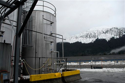 Alaska brewery is powered by beer
