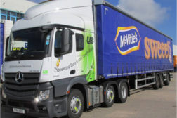 Snack manufacturer fuels trucks with cooking oil