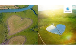 Beverage companyâ??s solar field design shares the â??loveâ?? of renewable energy