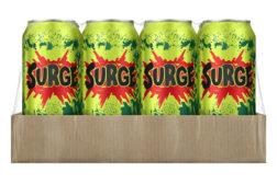 Coca-Cola brings back Surge