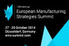 European Manufacturing Strategies Summit seeks nominations for industry award