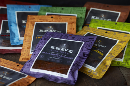 Hershey steps outside the candy aisle with Krave jerky