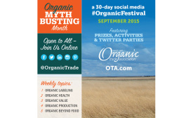 Organic industry goes â??myth bustingâ?? throughout September