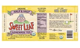 Sweet Leaf Tea recalled for glass fragments