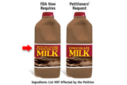 FDA seeks stakeholder comment on proposed labeling changes for flavored milk products