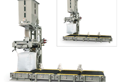 The National Bulk Equipment bulk bag filler