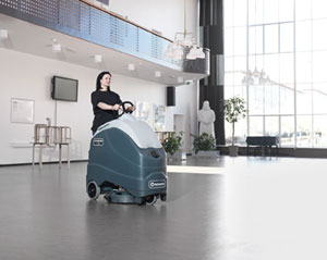 Advance SC1500 REV stand-on scrubber