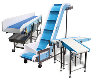 Dynamic DynaClean food-grade conveyors