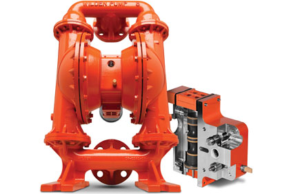 Wilden Advanced Series bolted and Original Series clamped air-operated double diaphragm pumps