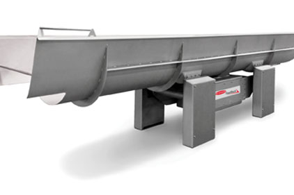 Heat and Control FastBack FDX inertia drive horizontal motion conveyor
