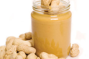 The lack of moisture and high fat content in peanut butter serve to protect against contaminating organisms.