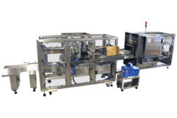 the Polypack intermittent motion tray loader-former