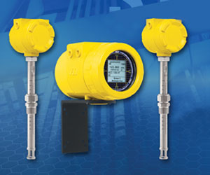the FCI Model ST102A air/gas thermal mass flow meter