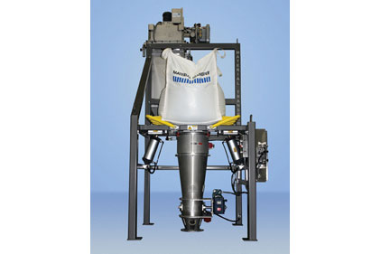 The Material Transfer portable stainless steel Material Master Bulk bag filling and weighing system