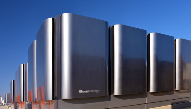 Natural gas-driven fuel cells from Bloom Energy