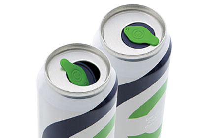A New Resealable Closure Solution For Beverage Cans Allows The Consumer To Portion Canned Beverages