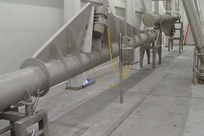 Powder Process-Solutions vibrating tube conveyor
