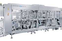 Cup packaging line