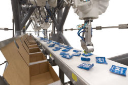 Including robots in food manufacturing facilities