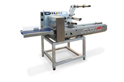 The WeighPack Sleek 60 horizontal flow wrapping machine