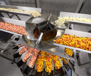 The heart of Tastee Choice's new line is the Ishida CCW-R-224 waterproof blending weigher