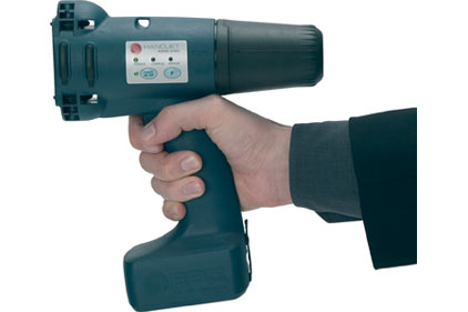 The EBS-250 HandJet handheld printer