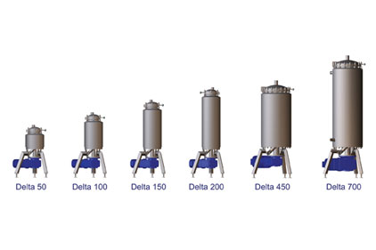 the Terlet Terlotherm Delta scraped surface heat exchanger