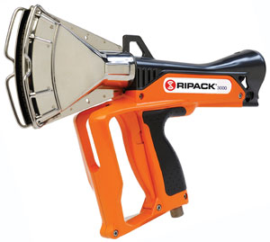 the Ripack 3000 heat shrink gun
