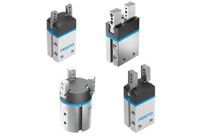 Festo DHxS parallel, 3-point, radial and angle pneumatic grippers