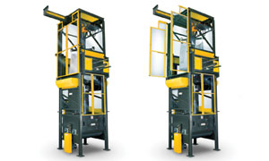 National Bulk Equipment's bulk bag unloader