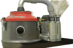 The Ruwac Compact-Vac dust extractor utilizes VPK Series vacuum