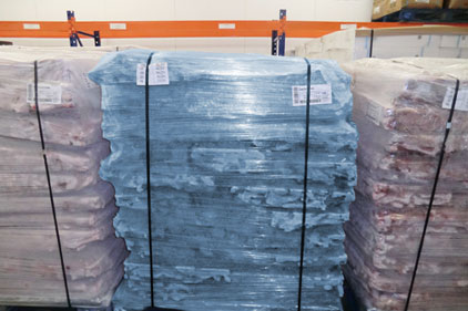 Detectamet's new detectable pallet wrap helps reduce food contamination caused by packaging materials.