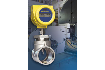 the FCI ST75 air/gas flow meter