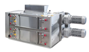 The Modern Process Equipment Dried Fruit Gran-U-Lizer grinder