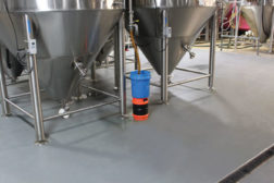 Dur-A-Flex's Poly-Crete cementitious urethane resilient flooring system handles kegs, forklifts and the ever-present ingredients and chemicals that hit the Sun King brewery floor daily.