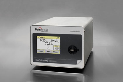 the Dansensor MAP Check 3 Vacuum online gas analyzer